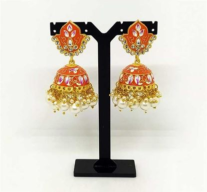 Gold Plated Jhumka Earring TR-1333
