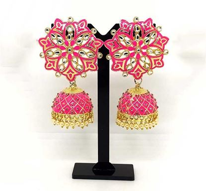 Gold Plated Jhumka Earring TR-1334