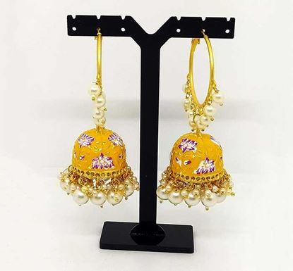 Gold Plated Jhumka Earring Tr-1336
