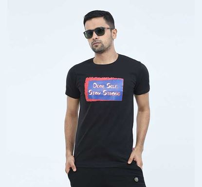 Round Neck Half Sleeve T-shirt for Men - EXTS10