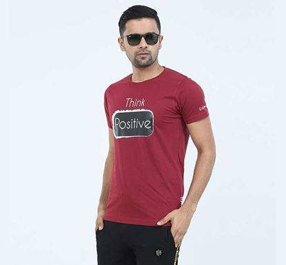 Round Neck Half Sleeve T-shirt for Men - EXTS17