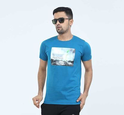 Round Neck Half Sleeve T-shirt for Men - EXTS19