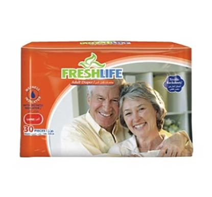 Freshlife Adult Diaper Large (30 Pieces)
