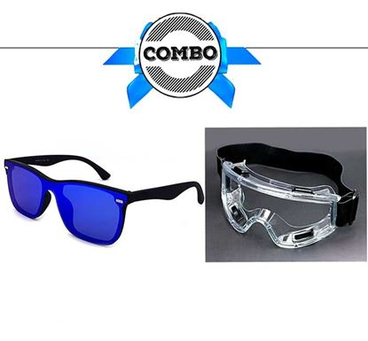 UV Protected Sunglass & Goggles Combo - DK00728