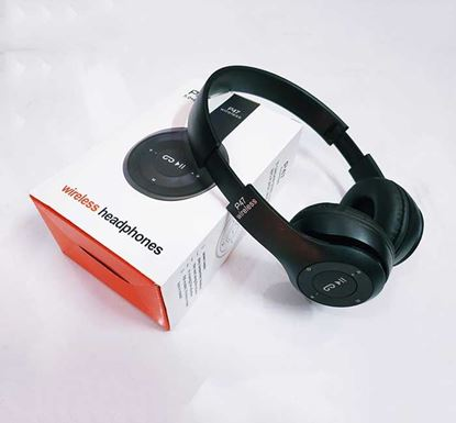 P47 Wireless Bluetooth Folded Stereo Headphone with SD Card Slot