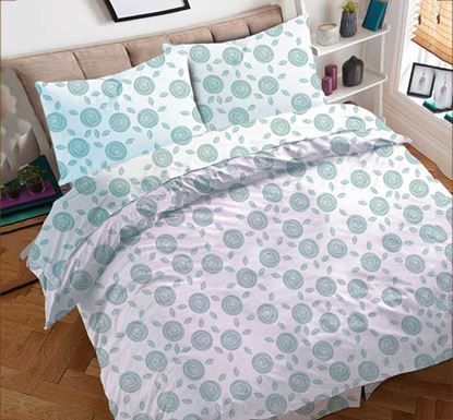 Cotton Bed Sheet with Pillow Cover - FZ-350