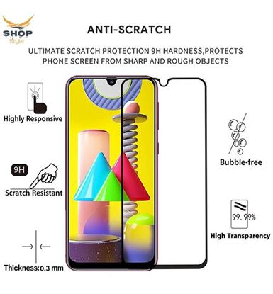 Oppo A7 Tempered Glass Screen Protector.