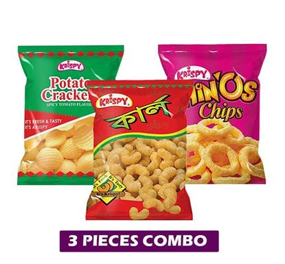 Krispy Daily Chips 3 Pieces Combo