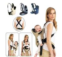 6 in 1 Soft Baby Carrier Bag