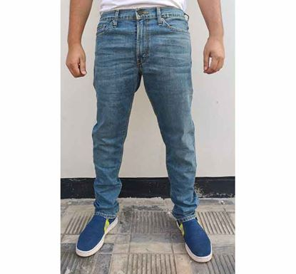 Light Wash Stretched Jeans Pant LD