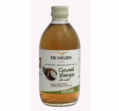 De Nigris Organic Coconut Vinegar - 500 ml