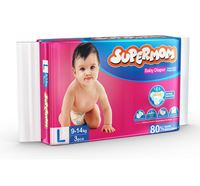 Supermom 9-14Kg Baby Diaper (Large - 3 Pieces)