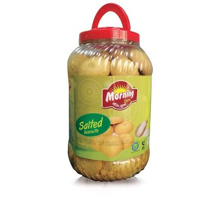 Well Food Morning Fresh Salted Biscuit Jar – 900 gm