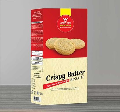 Well Food Crispy Butter Biscuit - 300gm