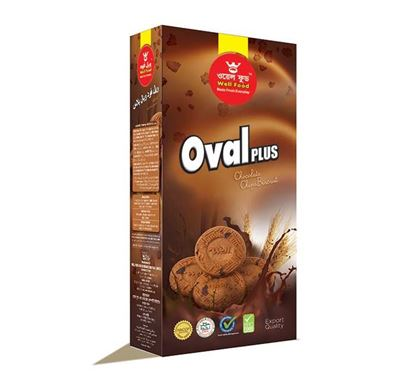 Well Food Oval Plus Biscuit - 150gm