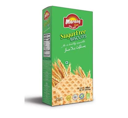 Well Food Morning Fresh Sugar Free Biscuit - 300gm