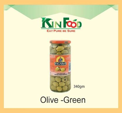 Figaro Olive Jar 340 gm – Green