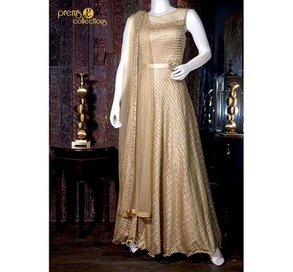 Prem's Collections Party Wear Net Gown - 180400040052