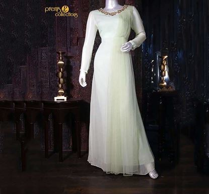 Prem's Collections Party Wear Silk Gown – 170601210056
