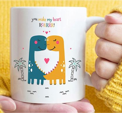 You Make My Heart Roar Ceramic Mug MV-01