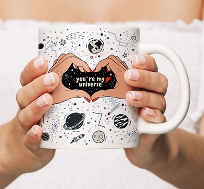 You're My Universe Ceramic Mug MV-04