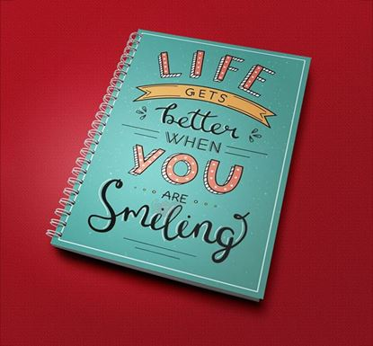 Life Gets Better When You Are Smiling Notebook CPN - 09