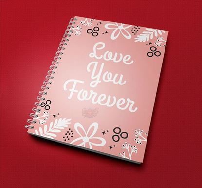 Love You Forever Notebook CPN - 10