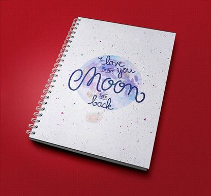 I Love You To The Moon Notebook CPN - 11