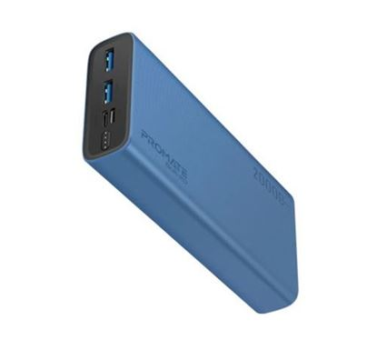 PROMATE Bolt-20 Compact Smart Charging Power Bank with Dual USB Output