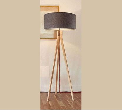 Canadian Pine Wood Stand Lamp - PL504