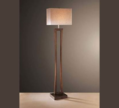 Canadian Pine Wood Stand Lamp - PL505