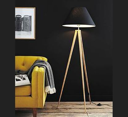 Canadian Pine Wood Stand Lamp - PL506