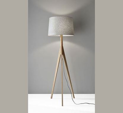 Canadian Pine Wood Stand Lamp - PL507