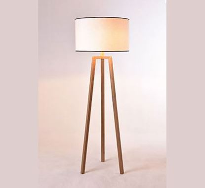 Canadian Pine Wood Stand Lamp - PL509