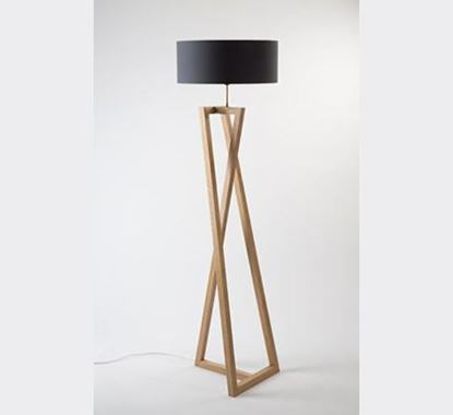 Canadian Pine Wood Stand Lamp - PL510