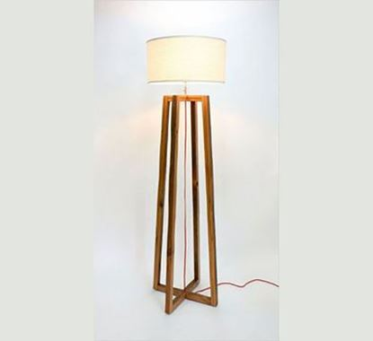 Canadian Pine Wood Stand Lamp - PL513