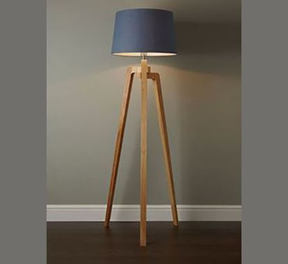 Canadian Pine Wood Stand Lamp - PL514
