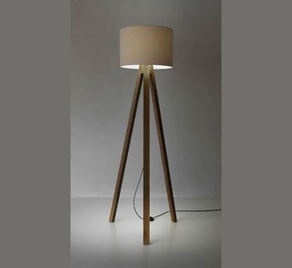 Canadian Pine Wood Stand Lamp - PL515