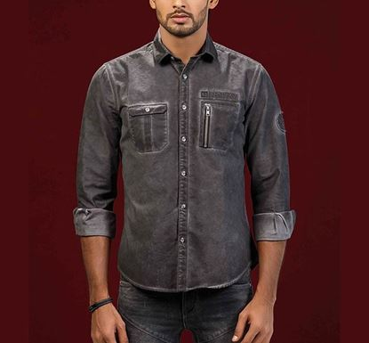 Cold Pigment Dyed Twill Shirt RN-MEH-AW20-SM03