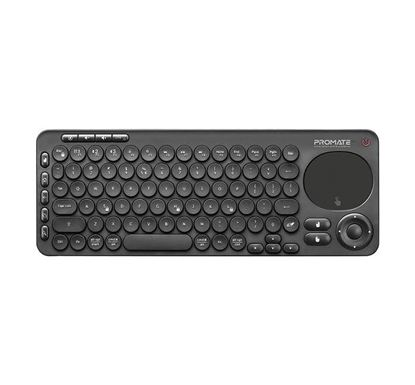PROMATE KeyPad-1 Dual Mode Portable Wireless Multimedia Keyboard with Touchpad