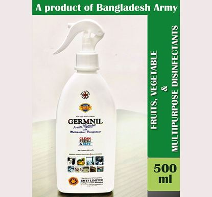 GERMNIL Fruit & Vegetable and Multipurpose Disinfectant with Spray 500ml