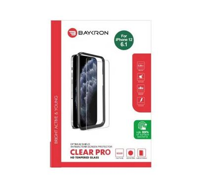 Baykron OT-IP12-6.1-2D Antibacterial Tempered Glass for iphone 12 / 12 Pro 20-005000