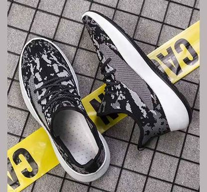 Knitted Sneakers for Men BW