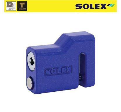 Solex Stainless Steel Motorcycle Disk Lock UCL-9040BL