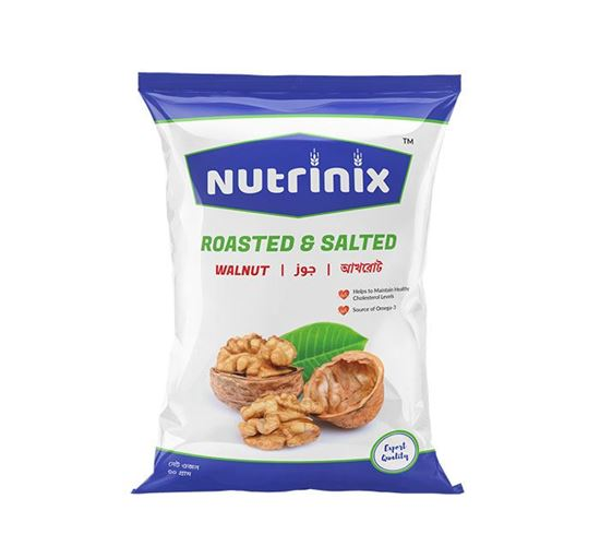 Nutrinix Roasted & Salted Walnut - 30 GM