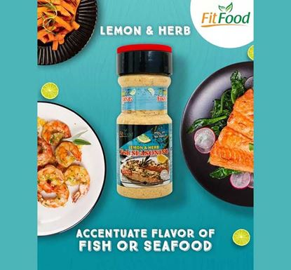 Lemon & Herb Fish Seasoning Spice - 80 gm