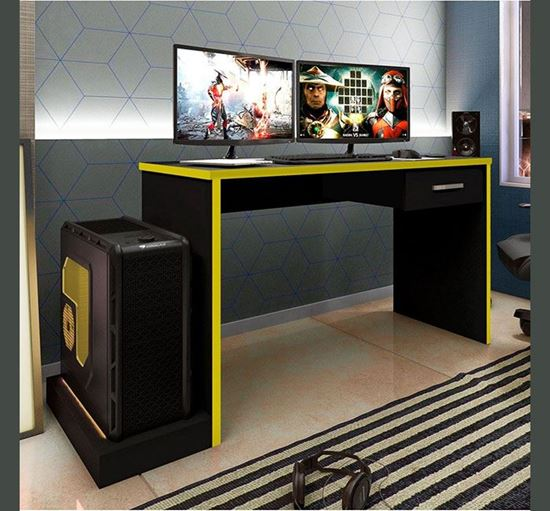 Fitment Craft Gamer Table with Drawer - TV3-002