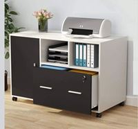 Fitment Craft Mobile File Cabinet CV1-004