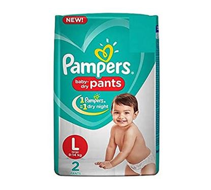 Pampers Pants Large LCP 2s (9-14 KG) - PM0080