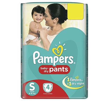 Pampers Pants Small 4s (4-8 KG) - PM0001